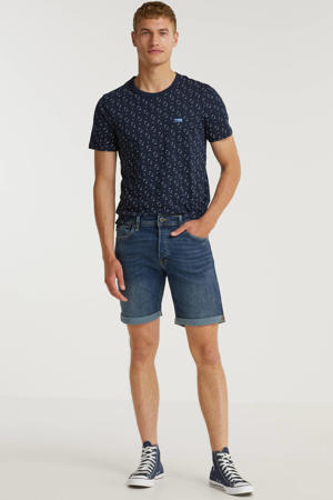 slim fit jeans short Rick blue denim