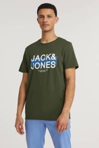 JACK & JONES CORE T-shirt JCODAHA met logo forest night, Forest night
