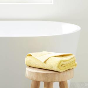 handdoek hotelkwaliteit (100 x 50 cm) Lichtgeel