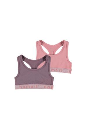 bh top - set van 2 roze