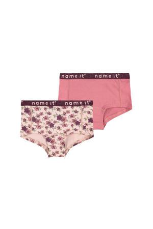 slip - set van 2 roze/oudroze