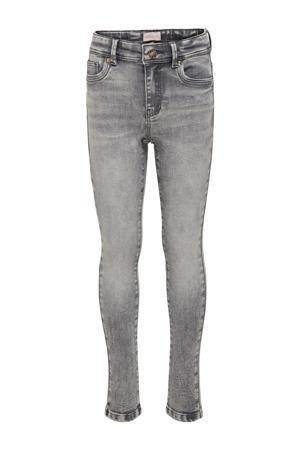 skinny jeans Wauw grijs stonewashed