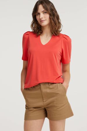 T-shirt FQYR-SS-BALLOON rood