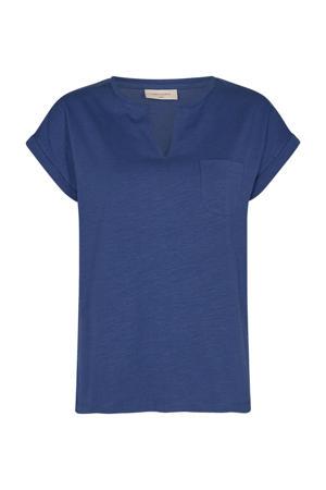 T-shirt FQVIVA blauw