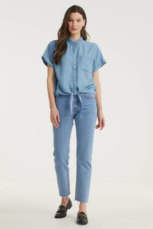 blouse FQROSIE blauw