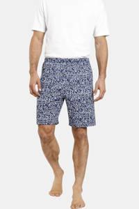 Jan Vanderstorm Plus Size pyjamashort Enno (set van 2) donkerblauw/blauw, Donkerblauw/blauw