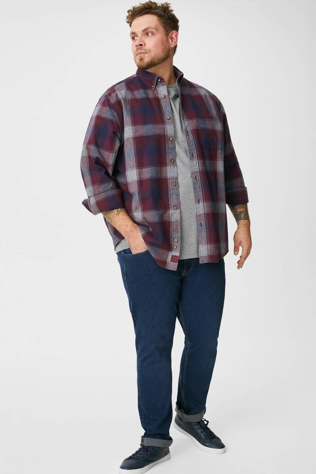 C&A XL T-shirt met printopdruk grijs, Grijs