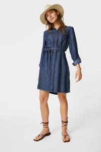 C&A Yessica blousejurk met ceintuur donkerblauw, Donkerblauw
