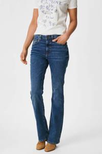 C&A The Denim flared jeans met biologisch katoen blauw, Blauw