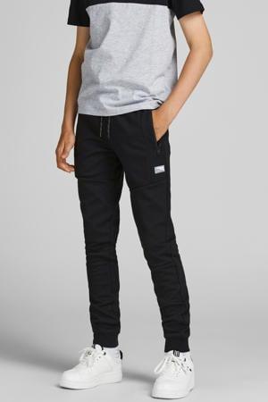 joggingbroek JJIWILL met logo zwart