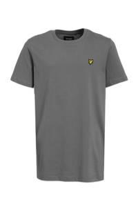 Lyle & Scott T-shirt met logo grijs, Grijs