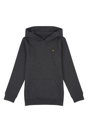 sweater met logo antraciet