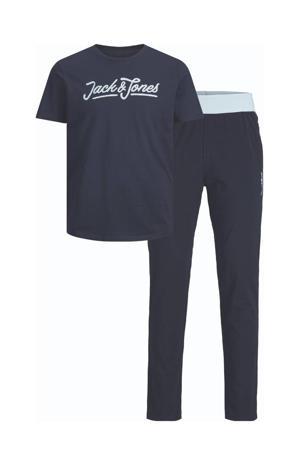 T-shirt + loungebroek JACLOUNGE donkerblauw
