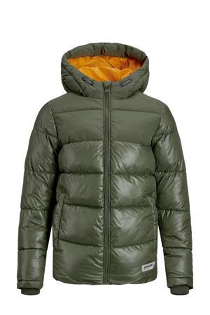 winterjas JJVENUS groen