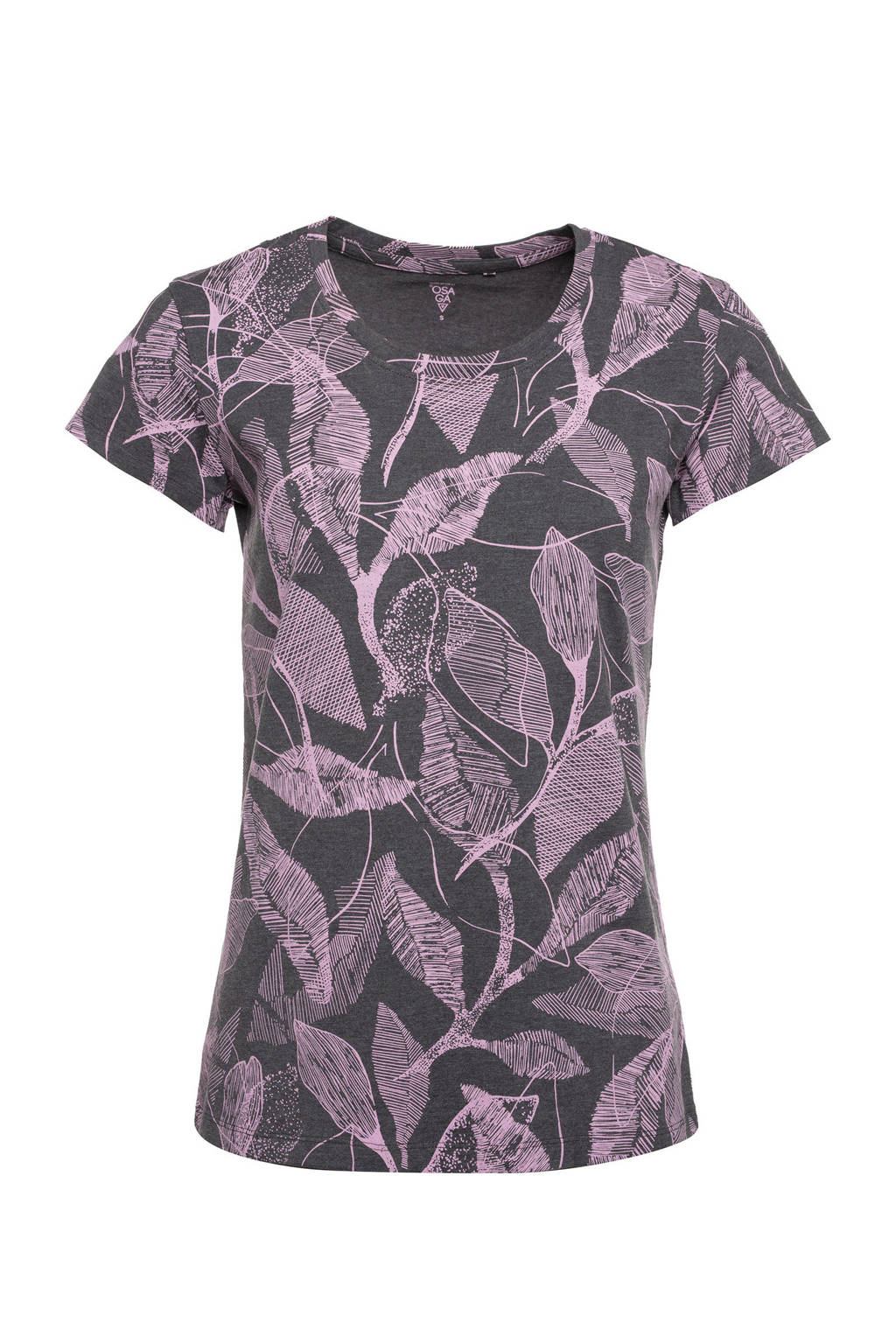 Scapino Osaga sport T-shirt donkergrijs/roze, Donkergrijs/roze