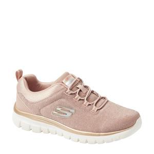 sneakers roze/goud