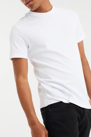 slim fit T-shirt white uni