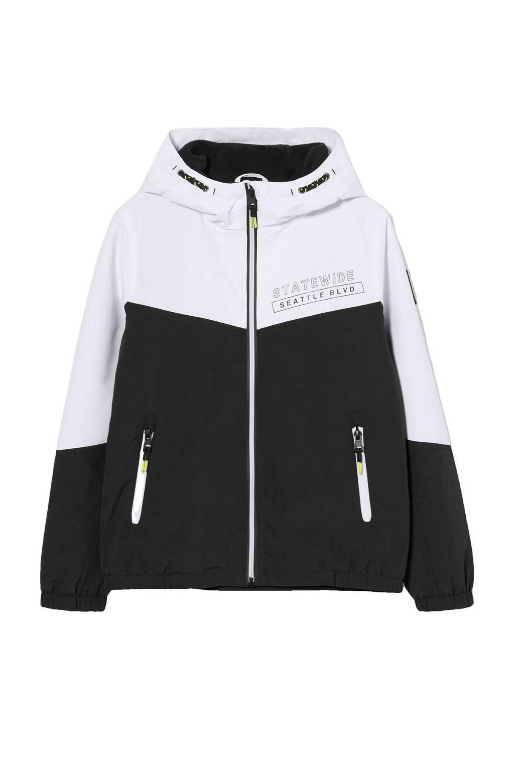 C&A Here & There  zomerjas wit/zwart, Wit/zwart