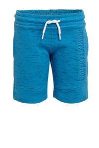 C&A Palomino gemêleerde regular fit sweatshort turquoise, Turquoise