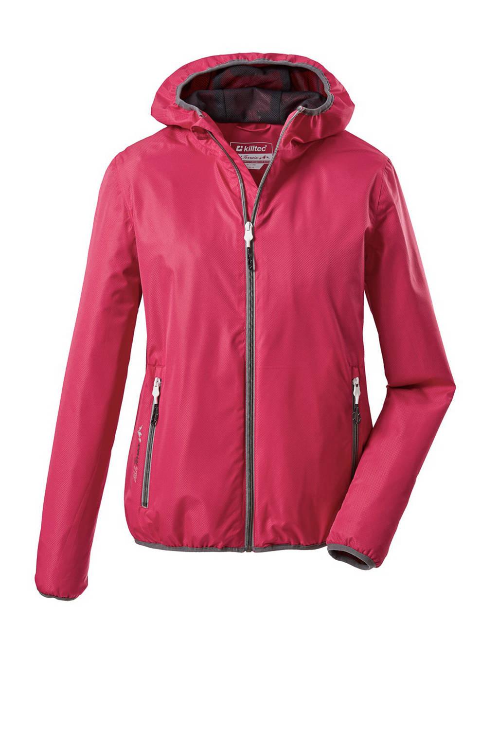 Killtec outdoor jas Trin rood, Rood