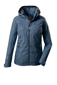 Killtec outdoor jas Vojak donkerblauw, Donkerblauw