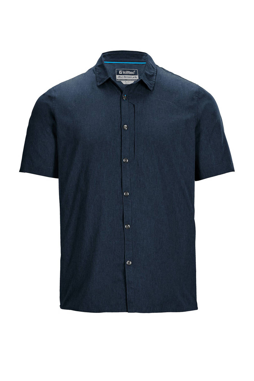 Killtec outdoor overhemd Rodby donkerblauw, Donkerblauw