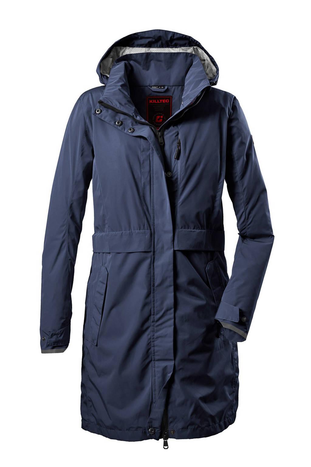 Killtec outdoor jas Esbo donkerblauw, Donkerblauw