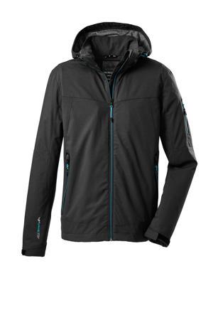 outdoor jas Vojak zwart