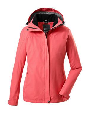 outdoor jas Inkele roze