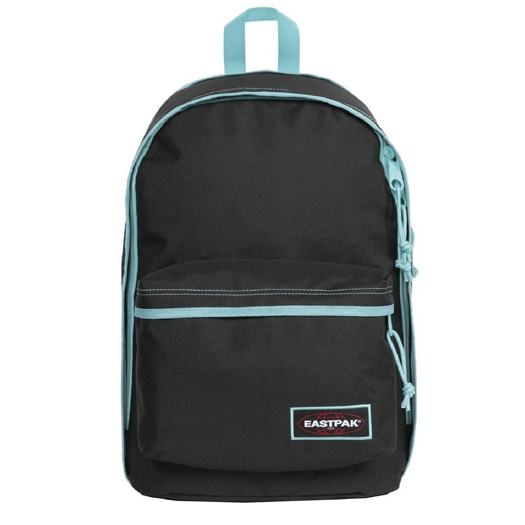 Eastpak  rugzak Back To Work zwart/lichtblauw, Lichtblauw