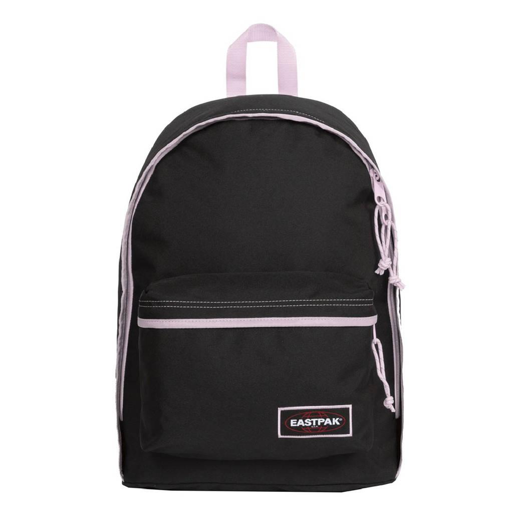 Eastpak  rugzak Out Of Office zwart/roze, Zwart/roze