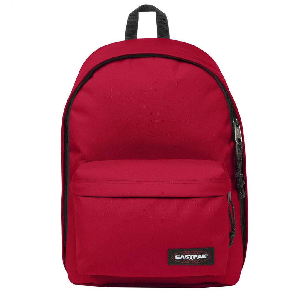 Eastpak  rugzak Out of Office rood, Rood