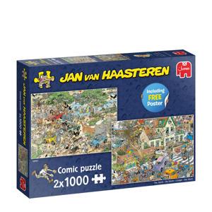 JvH Safari & Storm 2in1 (2x1000)  legpuzzel 1000 stukjes