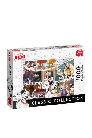 Classic Collection 101 Dalmatians  legpuzzel 1000 stukjes