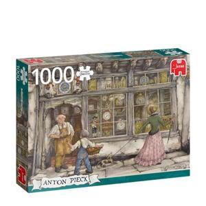 PC Anton Pieck The Clock Shop  legpuzzel 1000 stukjes