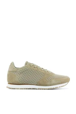 Ydun Sue Mesh II  suède sneakers beige