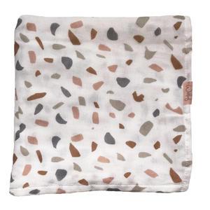 swaddle/hydrofiele doek Colour your world 120x120cm beige