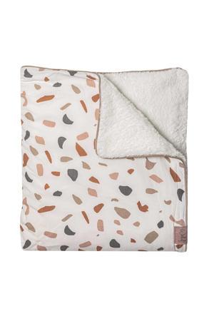 Tuck-Inn baby ledikantdeken Colour your world 60x120cm beige