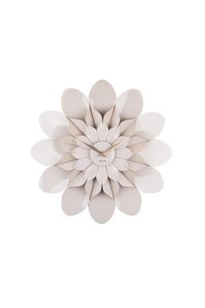 wandklok Flower