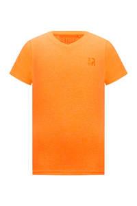Retour Denim basic T-shirt Sean neon oranje, Neon oranje