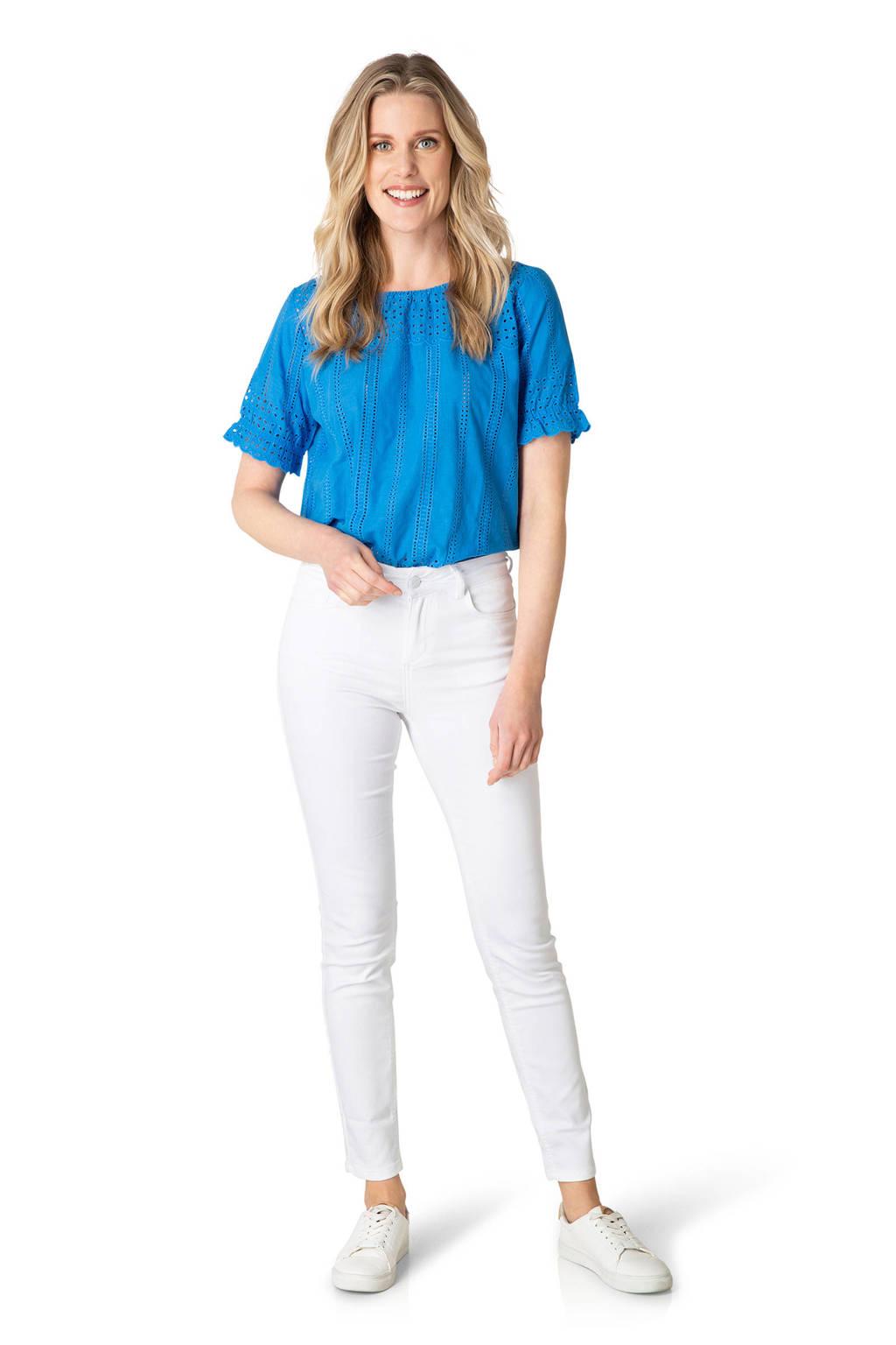Yest skinny jeans Joy wit, Wit