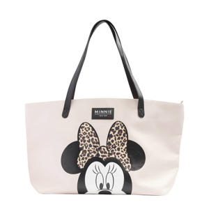 Minnie Mouse shopper lichtroze
