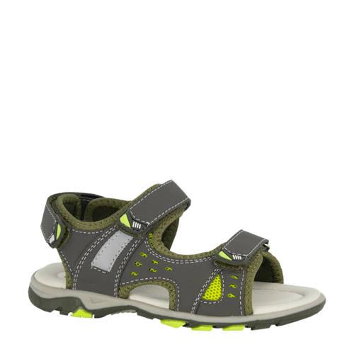 Vty sandalen groen/grijs