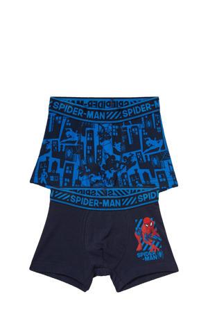 boxershort Spider-Man - set van 2 blauw/rood
