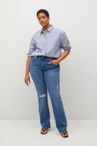 Violeta by Mango bootcut jeans blauw, Blauw