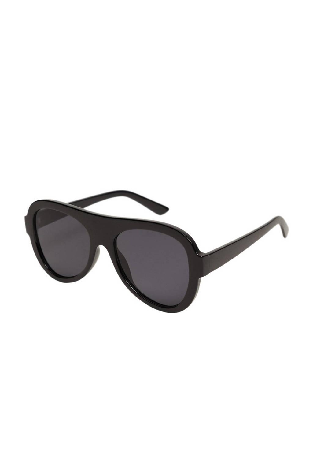 Mango zonnebril zwart