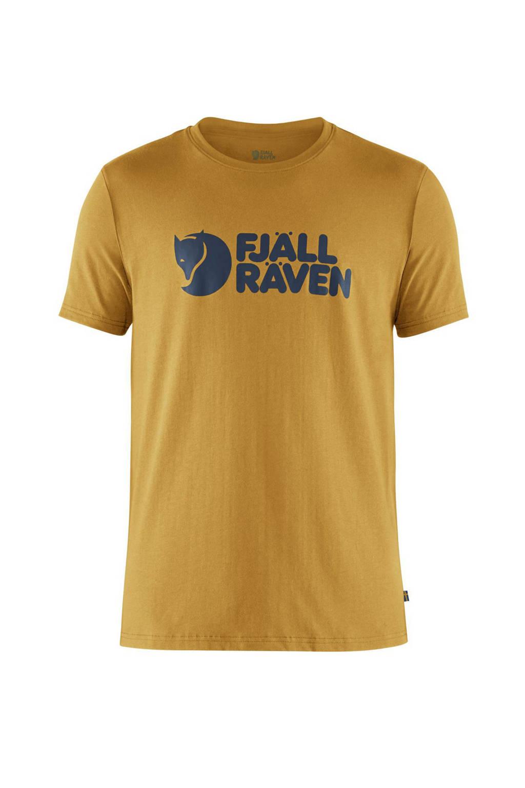 Fjällräven T-shirt geel, Ochre