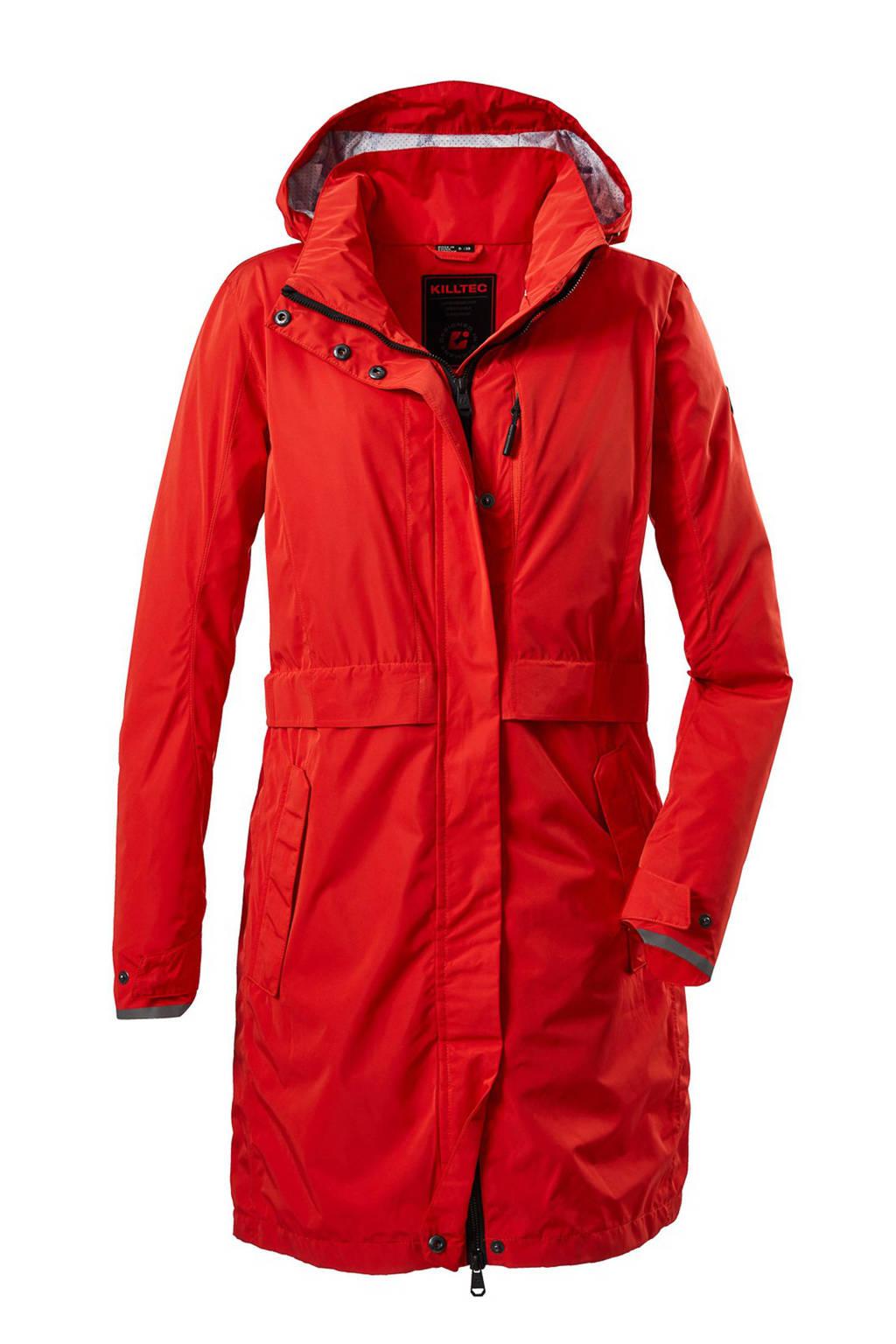 Killtec outdoor jas Esbo rood, Rood