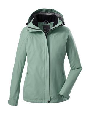 outdoor jas Inkele lichtgroen