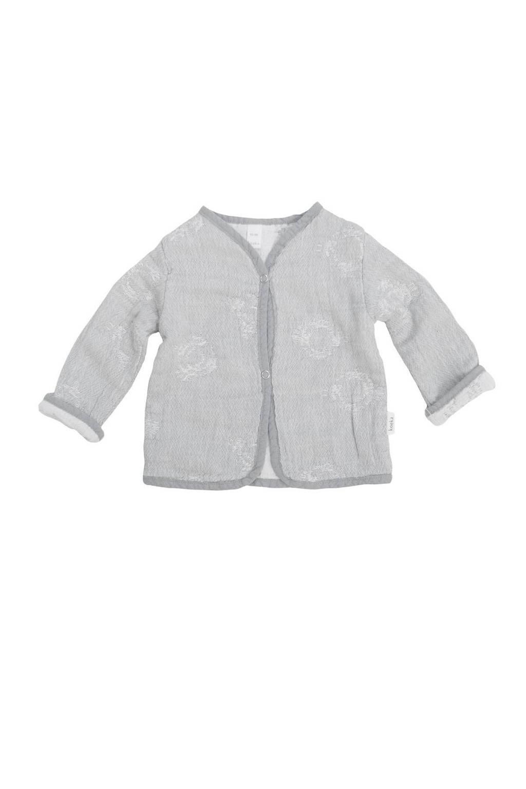 Koeka vest Portobello steel grey, Steel grey